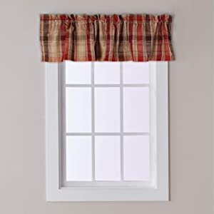 SKL Home by Saturday Knight Ltd. Cooper Valance, 58 inches x 13 inches, Red