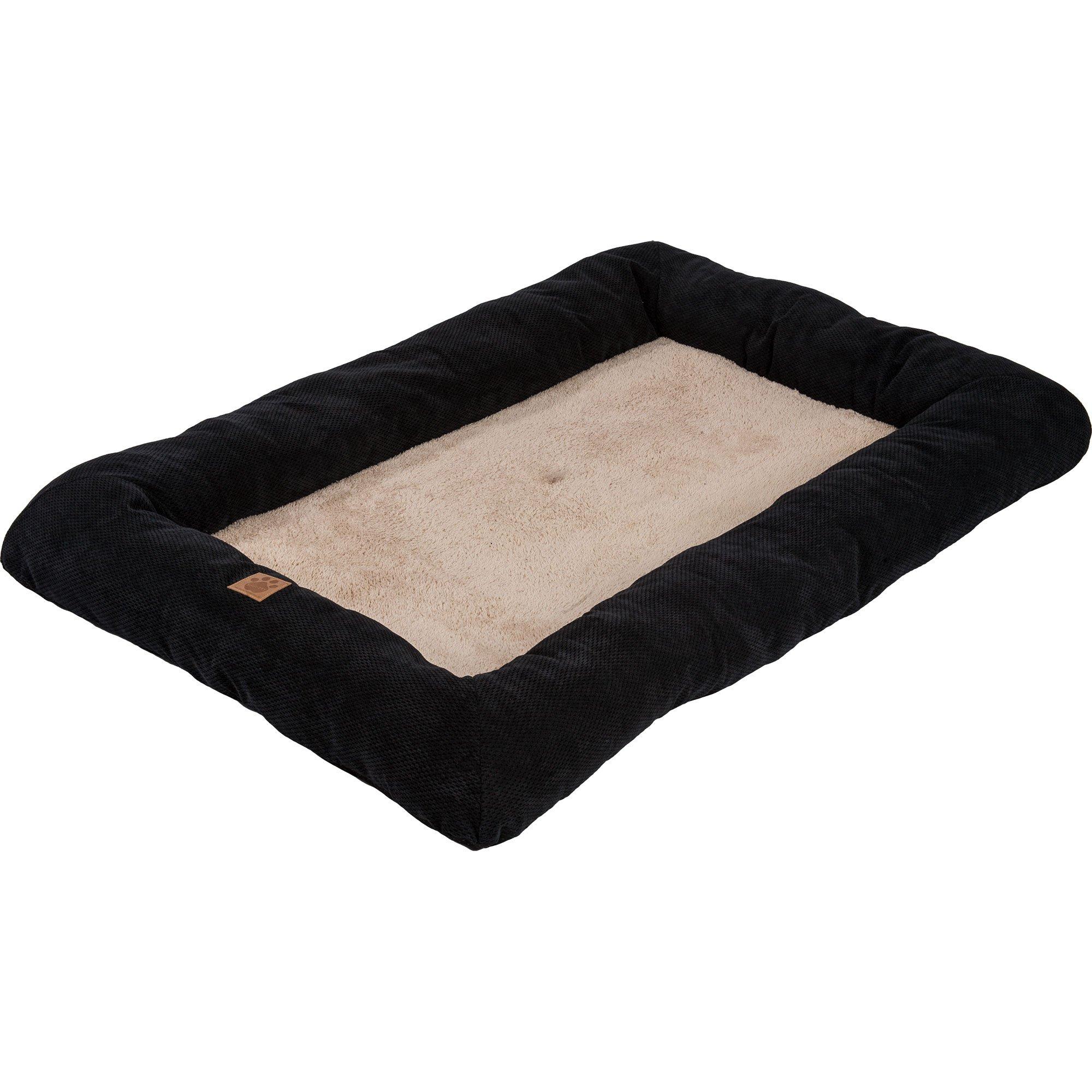 Precision Pet SnooZZy Mod Chic Low Bumper Mat, 6000 Black