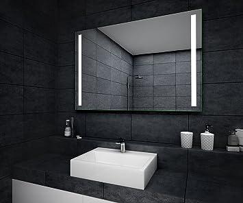 Design Miroir De Salle De Bain Avec Eclairage Led Miroir Mural Salle