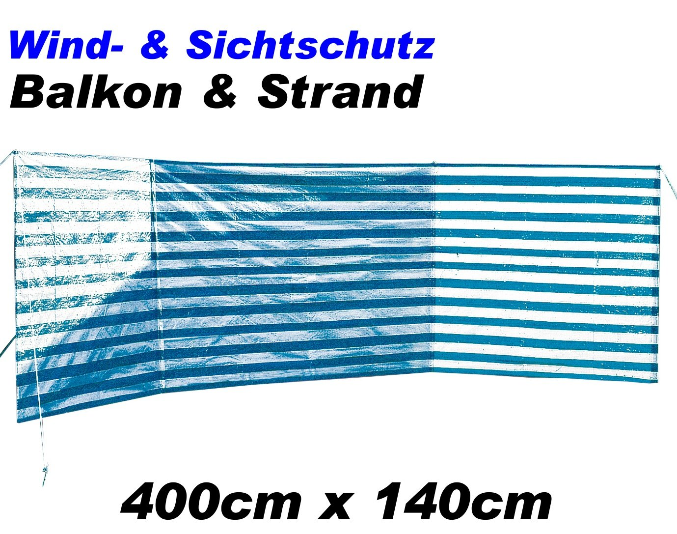 Xl Windschutz 400x140cm Garten Strand Etc 15395 Amazon De Garten