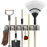 Shovel, Rake and Tool Holder with Pins
