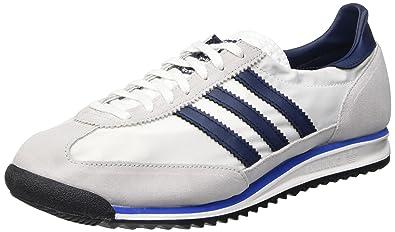 adidas SL 72, Chaussures de sport homme différents coloris Blanc Bleu marine