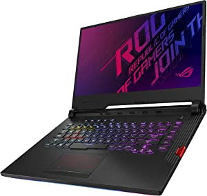 "ASUS ROG Strix Hero III (2019) Gaming Laptop, 15.6"" 144Hz IPS Type Full HD, NVIDIA GeForce RTX 2070, Intel Core i7-9750H, 16GB DDR4, 512GB PCIe NVMe SSD, Per-Key RGB KB, Windows 10 Pro, G531GW-XB74"