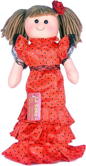 Amazon.es: Muñeca de trapo Flamenca Sevillana: Juguetes y juegos