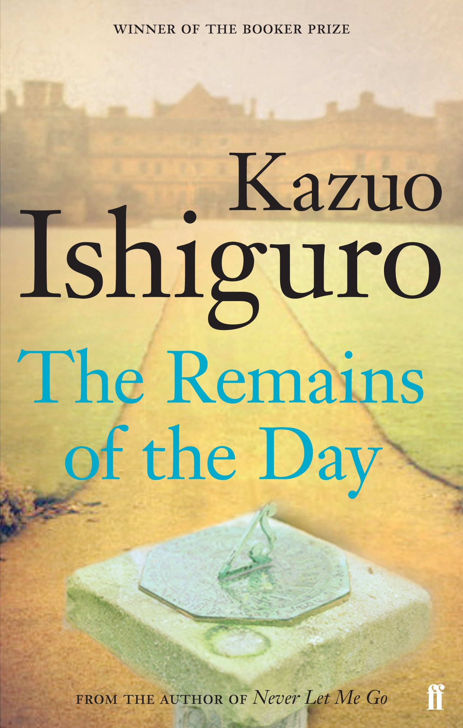 Image result for the remains of the day book cover