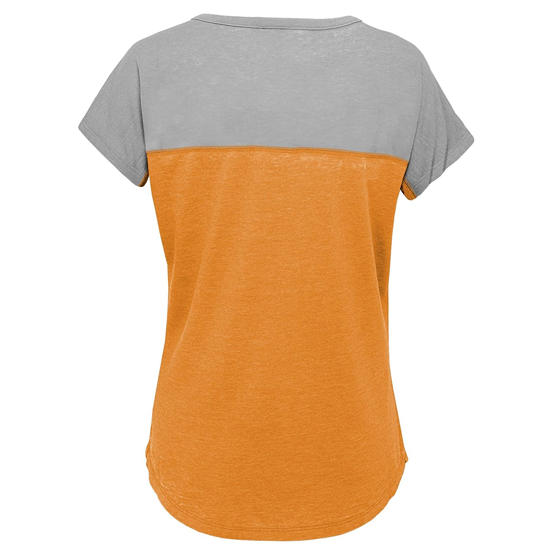 Light Orange 10-12 NCAA by Outerstuff NCAA Tennessee Volunteers Youth Girls Tribute Raglan Football Tee Youth Medium
