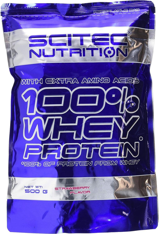 Scitec Nutrition Whey Protein Proteína Fresa - 500 g
