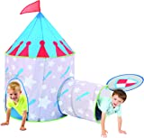 Medieval Knight Castle Kids Play Tent and Tunnel Set with Travel Case - Colorful Outdoor Pop  sc 1 st  Amazon.com & Amazon.com: Disney Cars Race Ready Pop Up Play Tent: Toys u0026 Games