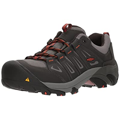 KEEN Utility Men's Boulder Low Industrial Shoe: Shoes