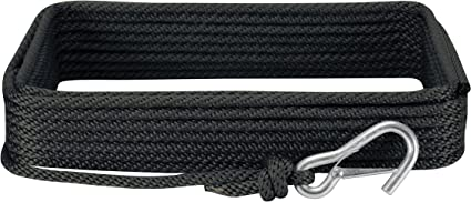 Extreme Max 3006.2072 BoatTector 3//8 x 100 Premium Hollow Braid Polypropylene Anchor Line White