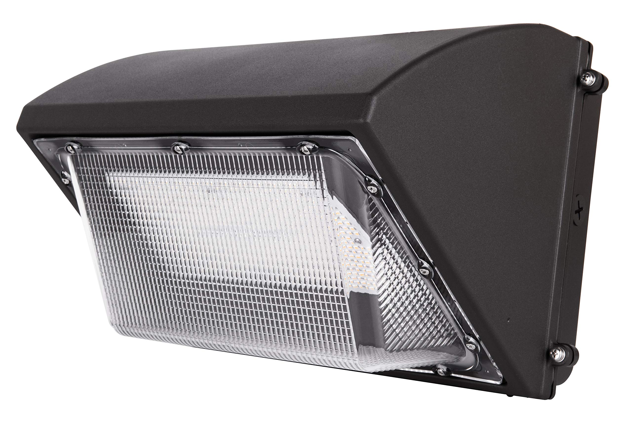 Hyperikon LED Wall Pack 70W Fixture, 275-350W HPS/HID Replacement, 5000K, Commercial and Industrial Outdoor Lighting, IP65 Waterproof - DLC & UL