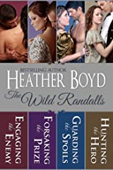 The Wild Randalls Boxed Set: Engaging the Enemy, Forsaking the Prize, Guarding the Spoils, Hunting the Hero Kindle Edition