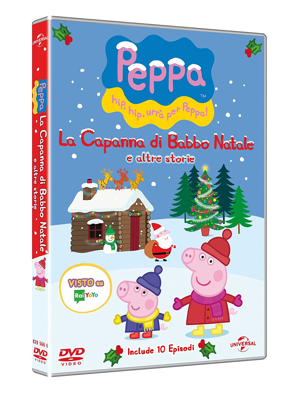 Le Storie Di Babbo Natale.Amazon Com Peppa Pig La Capanna Di Babbo Natale E Altre Storie Dvd Italian Import Animazione Movies Tv