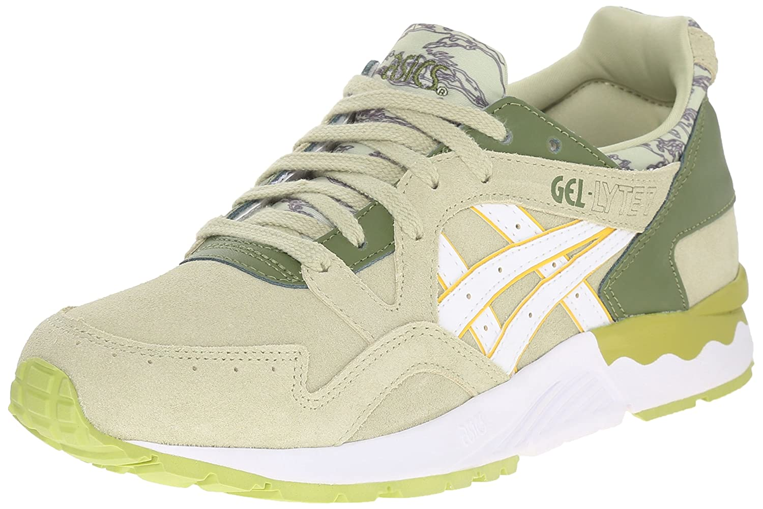 ASICS Women's Gel-Lyte V Retro Running Shoe B00ZQA1JVI 7 B(M) US|Winter Pear/White