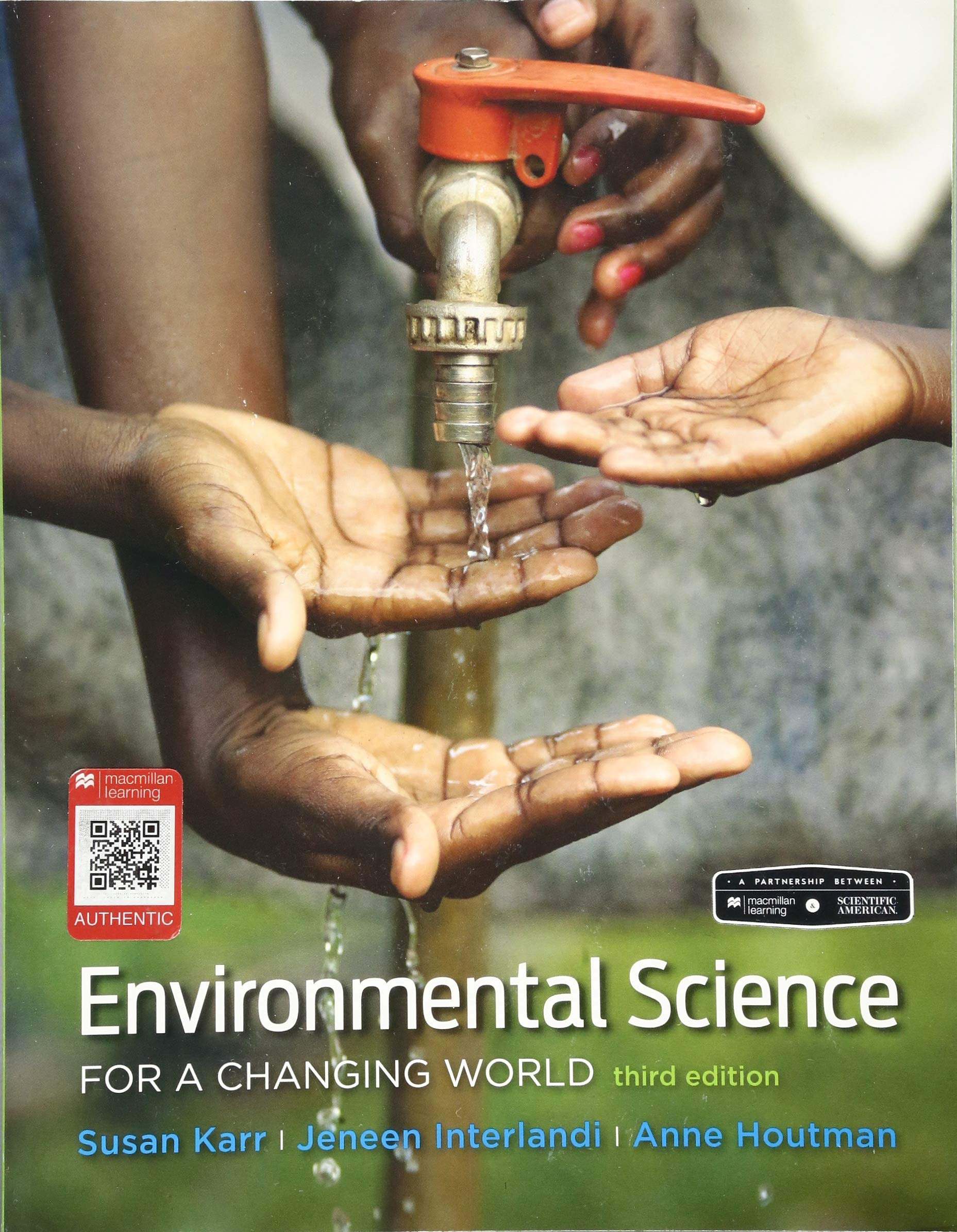 Scientific American Environmental Science for a Changing World by W. H. Freeman