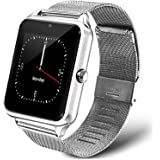 Redlemon Smartwatch Reloj Inteligente Bluetooth con Ranura para Chip SIM y Micro SD, Pantalla Táctil, Responde Llamadas, Noti