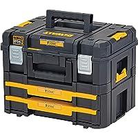 Dewalt Alet kutusu Combo (21,6 l hacim, TSTAK II ve IV kombinasyonu, elektrikli aletlerin ve el aletlerinin güvenli…