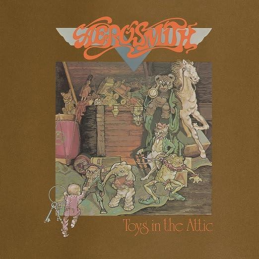 cover Aerosmith the toys album in attic