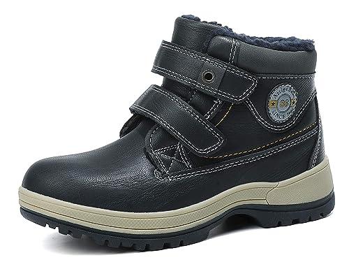 Camo Jungen Kinder Winter Stiefel Snow Boots warmfutter gr