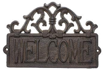 Adorno De Bienvenida Para Puertas Adorno De Bienvenida Rústico