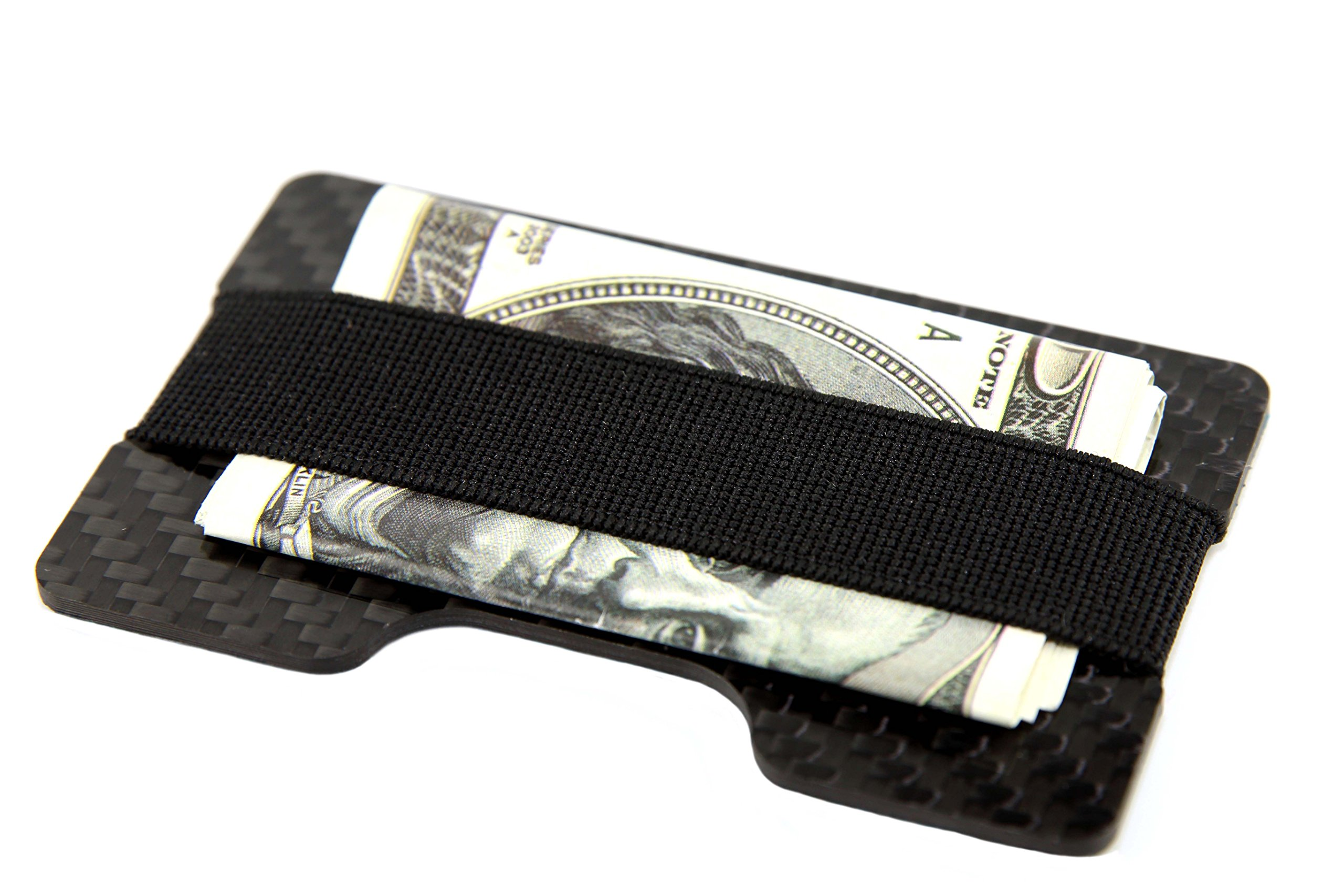 Carbon Fiber Credit Card Business Card Holder Glossy CL Carbonlife Double Side