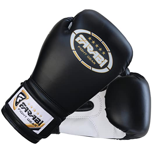 Niños guantes de boxeo, guantes de boxeo junior, junior, MMA, muay tailandés, kickboxing y bolso de perforación manoplas 6 oz por Farabi: Amazon.es: ...