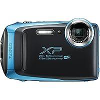 Fujifilm FinePix XP130 Waterproof Digital Camera w/16GB SD Card - Sky Blue