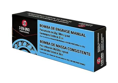 Bomba de engrase manual - 3 EN UNO Profesional