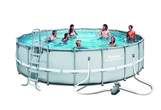 Bestway – Piscina tubular ø549 X H132 cm Power Steel Frame Pool ...