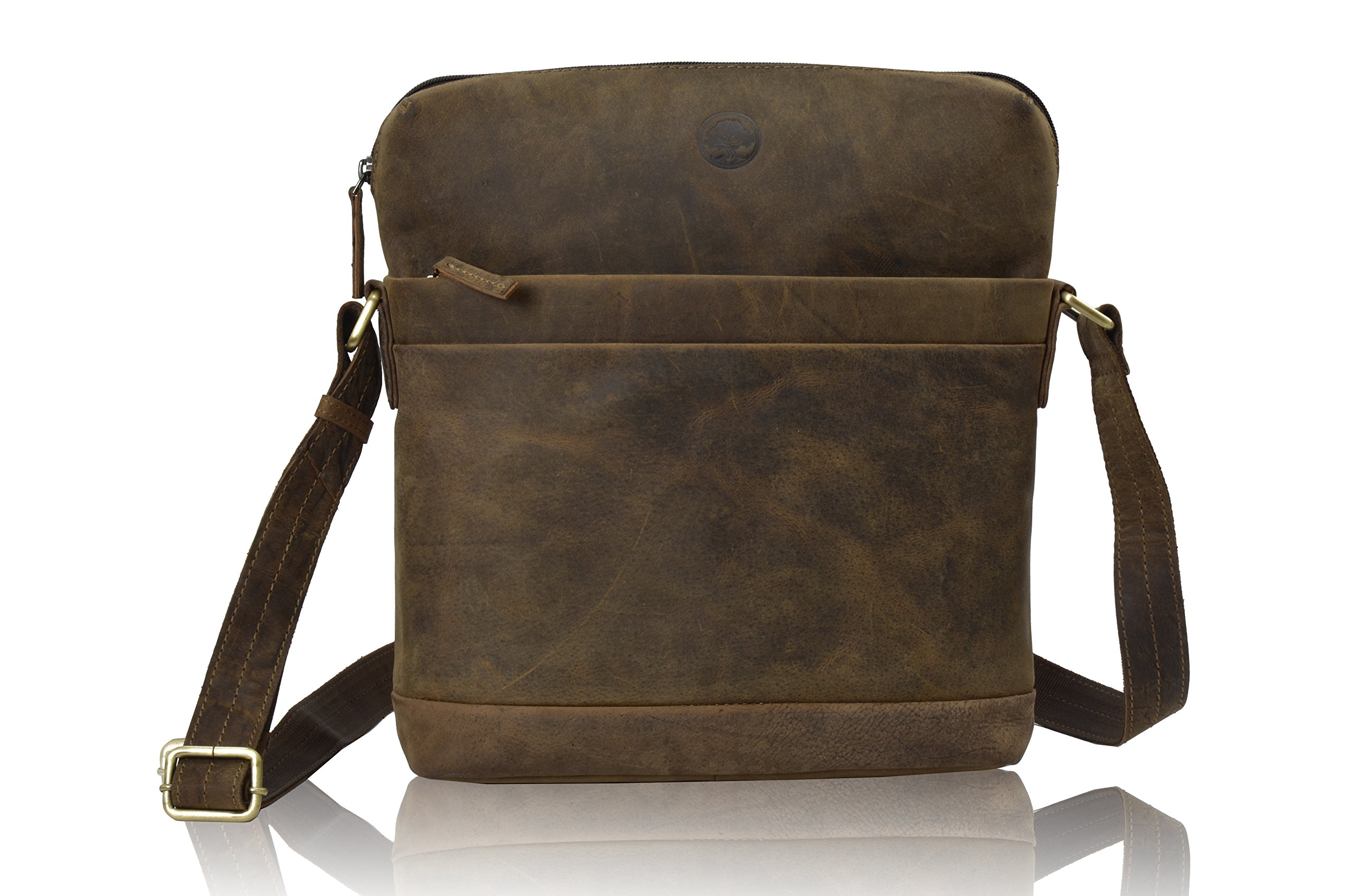 100% Natural Rustic Leather Satchel Bags in vintage