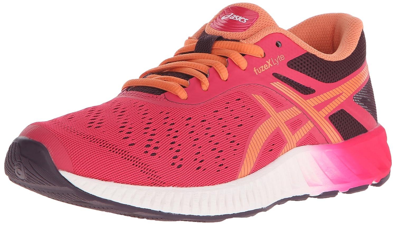 ASICS Women's fuzeX Lyte Running Shoe B00YB0J36M 5.5 B(M) US|Azalea/Melon/Eggplant