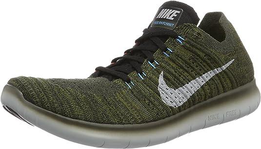 Nike Free RN Flyknit 2017 Zapatillas de running para hombre, 11.5 M US