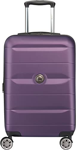 DELSEY Paris Luggage Comete 2.0 Limited Edition Carry-on Hardside Suitcase, Plum, One Size