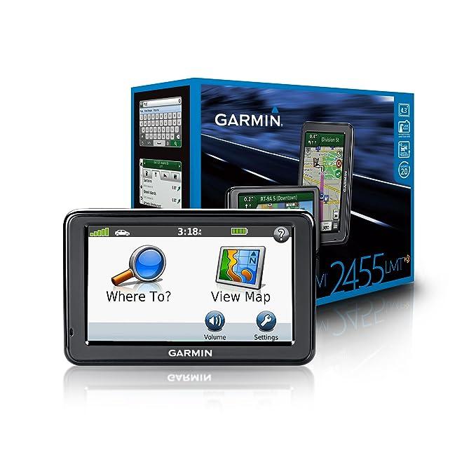 Garmin nüvi 2455LMT 4 3-Inch Portable GPS Navigator with Lifetime Map &  Traffic Updates