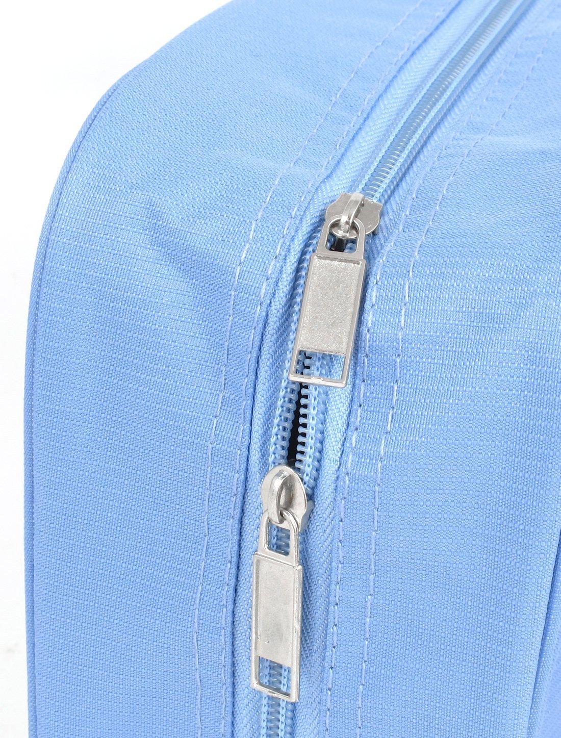 Amazon.com: Viajes de tocador Artículos de tocador de maquillaje bolso colgante plegable Wash Blue Sky: Health & Personal Care