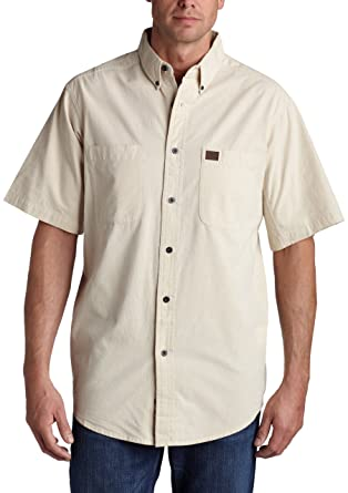3181fba0a1 RIGGS WORKWEAR by Wrangler Men's Big and Tall Chambray Work Shirt,Natural,Large  Tall