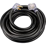 ClearMax 40AMP Welder Extension Cord - 6-50P Male Prong, 6-50R Female Plug for Equipment, Machines - Waterproof, Flame…