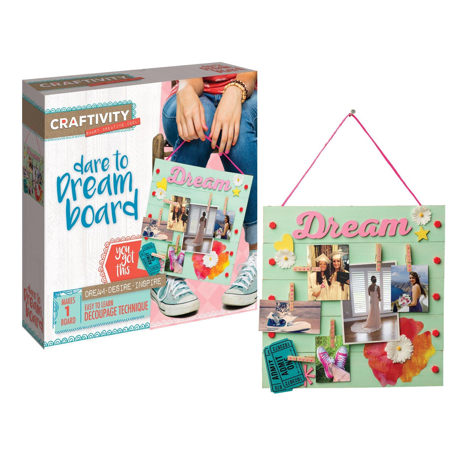 CRAFTIVITY Dare to Dream Board Craft Kit