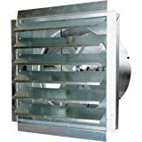 MaxxAir IF18 3000-CFM 18-Inch Blade Heavy-Duty Exhaust Fan with Integrated Shutter