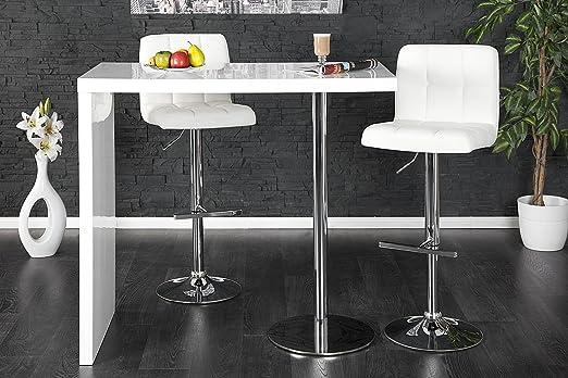 DuNord Design Bar Mesa Bexley Blanco Brillante 120 cm Cocina ...