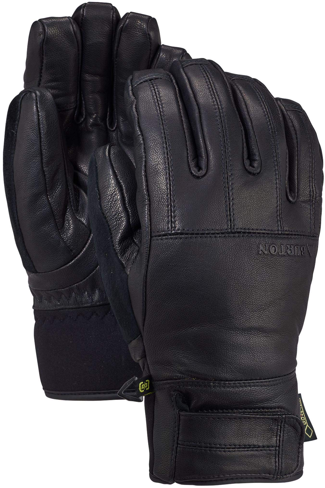 Burton Men's Gore-Tex Gondy Leather Glove, True Black W20, Large