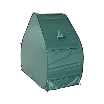 best service f52b2 d0b81 ALEKO BSP79GR Pop-Up Weather Resistant Bike Storage Tent, Green