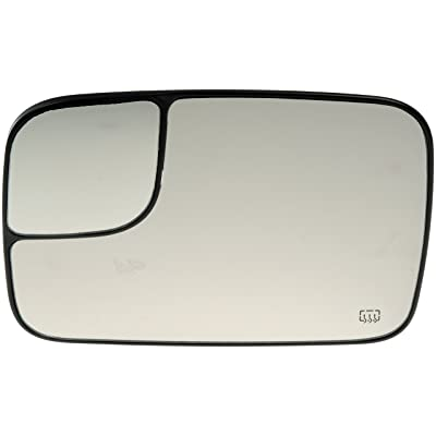 Dorman 56276 Driver Side Heated Plastic Backed Mirror Glass: Automotive