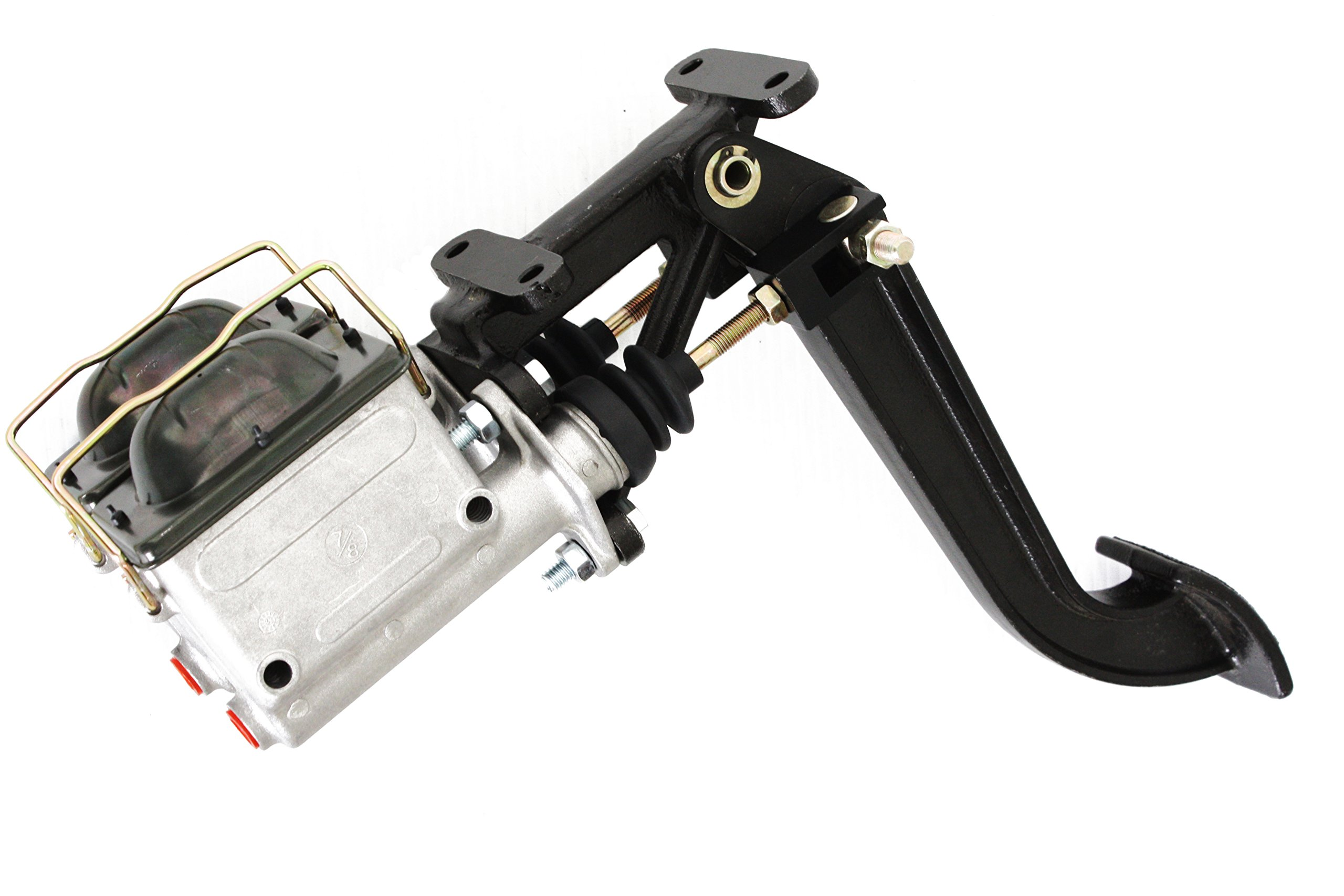 Universal Aluminum Brake Pedal Swing Mount & Dual 7/8'' Master Cylinders by CCR