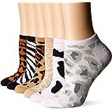 K. Bell Women's 6 Pack Novelty Crew Socks