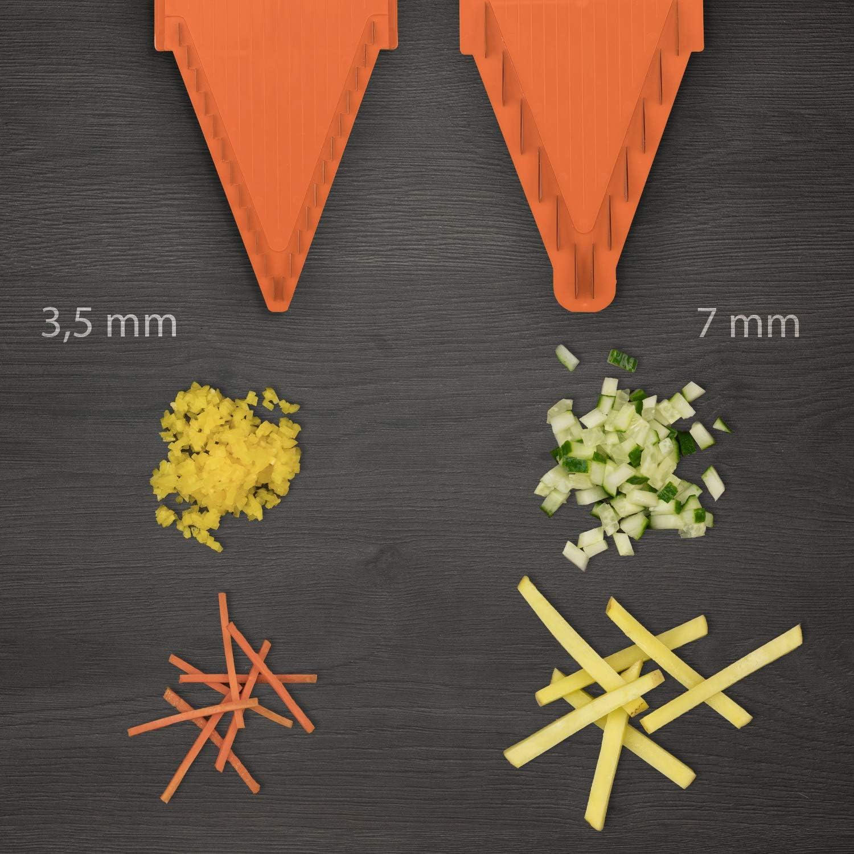 mandolina Speciale Base di conservazione Arancione B/örner V3 TrendLine Starter Set 36,6x12,5x7,5 cm Bianca