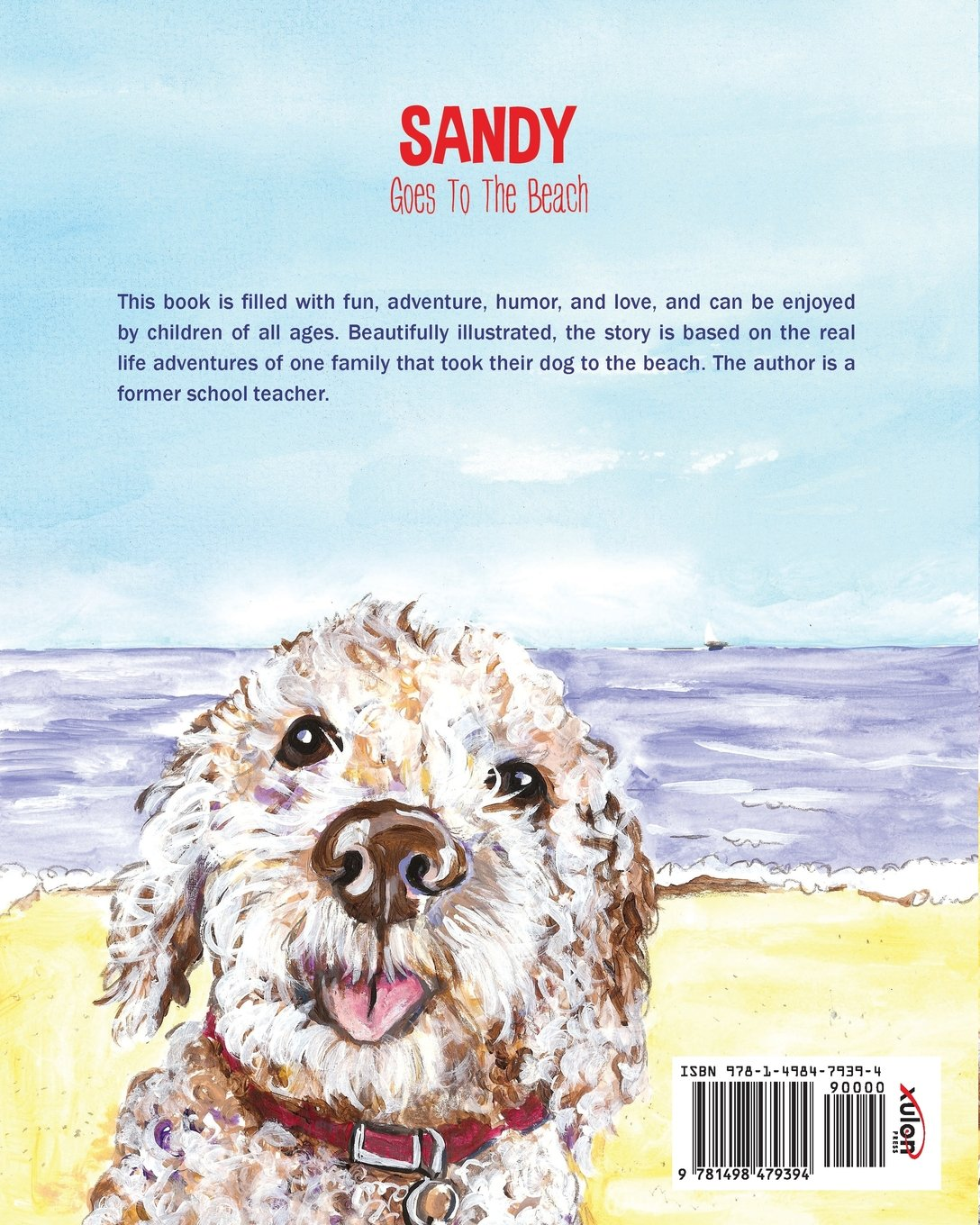 Sandy Goes to the Beach by Xulon Press (Image #1)