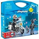 Playmobil - 5891 - Jeu de construction - Valisette policier et voleur