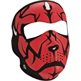 ZANheadgear Full Mask (Multi, One Size) (Neoprene, Glow in the Dark, Darklord)