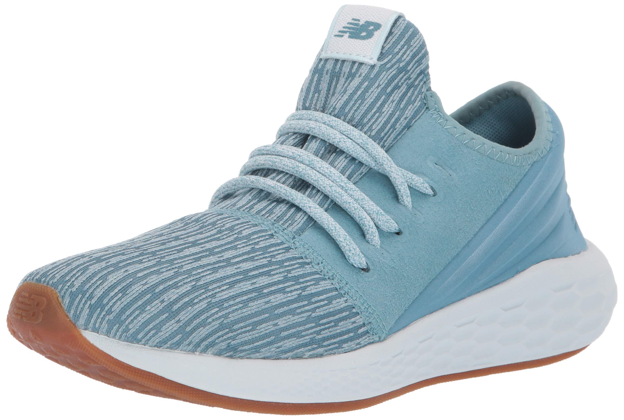 New Balance Women's Cruz V2 Fresh Foam Running Shoe Blue Fog/Platinum Sky 5 B US